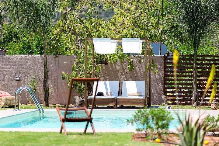 Beautiful & spacious villa with 38smq pool & BBQ! - Melidoni