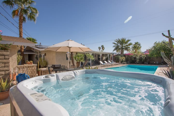 Desert Spa Home Detached Guest Room - Cathedral City