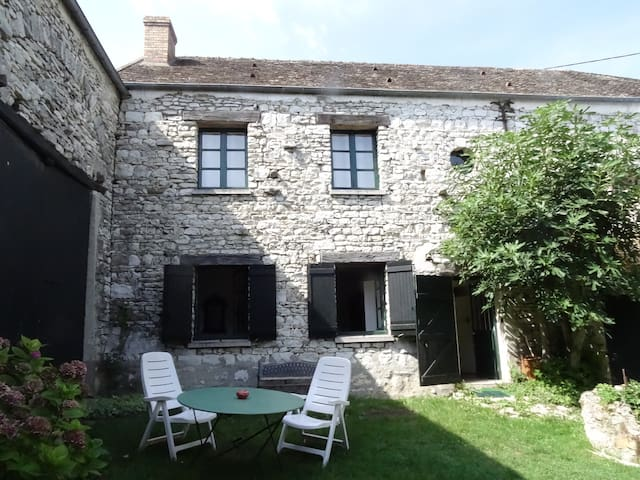 Maison de charme dans les Yvelines - Guerville - Casa