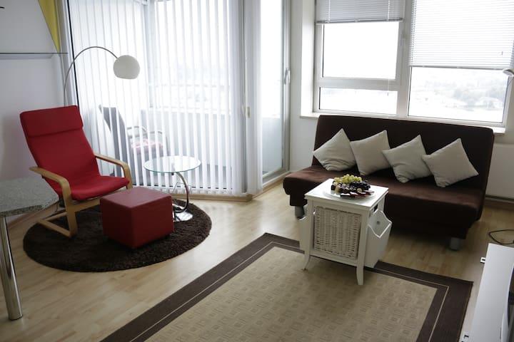 20. Stock im Wikingturm - Schleswig - Appartement