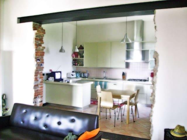 La casa sul fiume - Reggiolo - Lägenhet