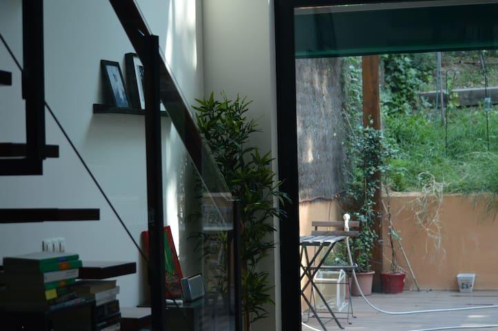 Loft moderno totalmente equipado y jardin grande. - San Sebastián de los Reyes - Loft