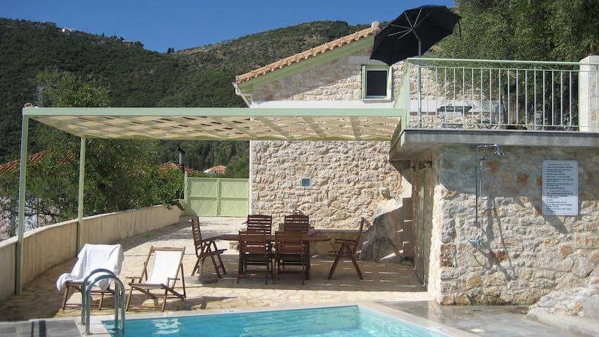 Lefkada island Ionian harmony-privacy in village - Katochori