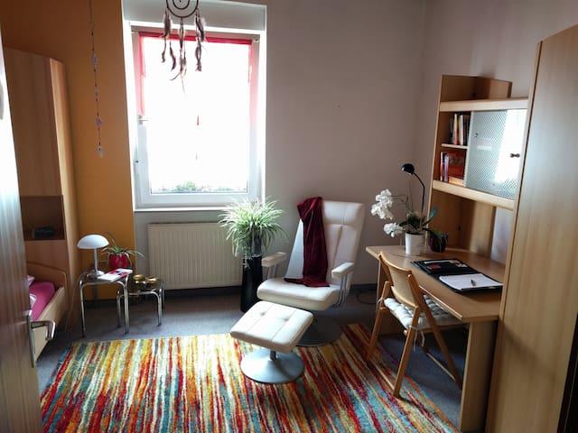 Gemütliches Zimmer mit eigenem Bad und Küche - Karlsruhe - Huoneisto