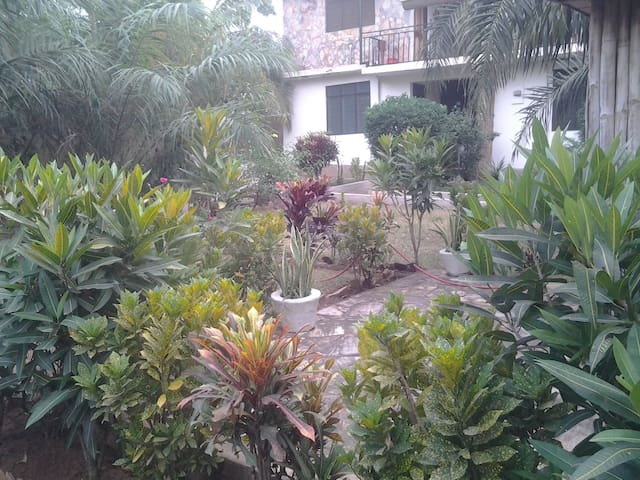 Garden Flat for 4 with Vegan Cafe - Accra - Appartement