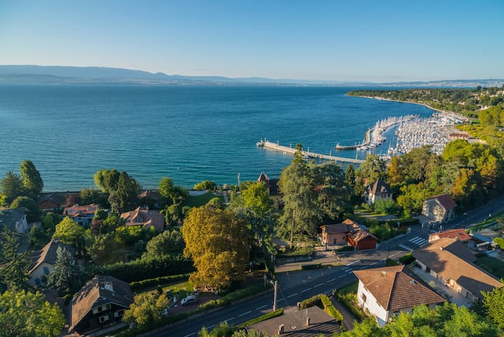 Atypical flat overlooking the Lake - Thonon-les-Bains - Wohnung