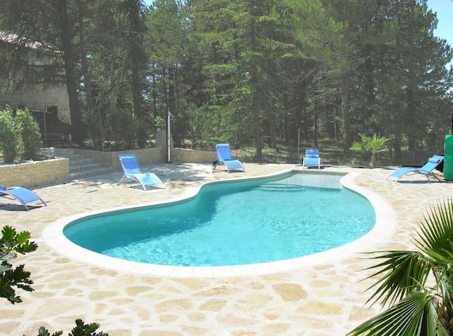Maison avec piscine privée chauffée - Vaison-la-Romaine - Dům