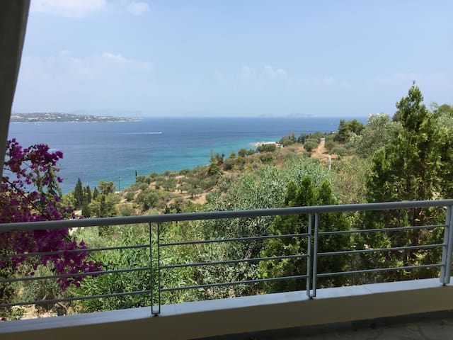 Lovely flat with amazing view located in Spetses - Nisi