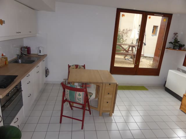Appartement en rez de jardin - Guillestre