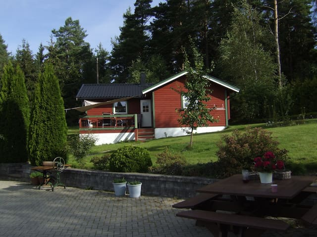 Noors vakantiehuis: bos, meer, rust - Ørje