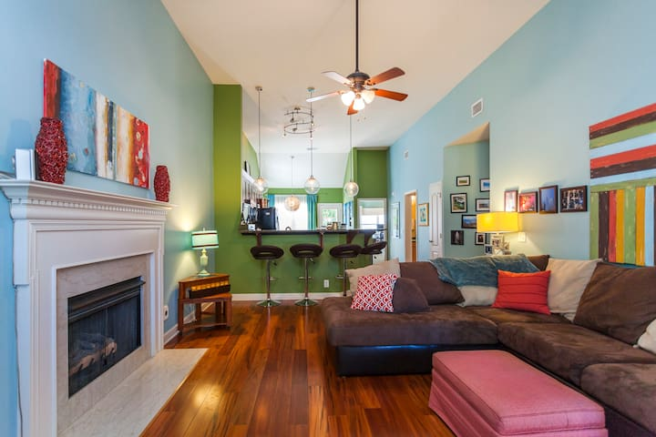 6Beds Artist's 1800 SqFt 3 Miles to Downtown-Gated - Nashville - Casa