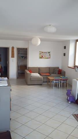 Appartement spacieux dans village de charme - Saint-Gervais-sur-Roubion - Appartement