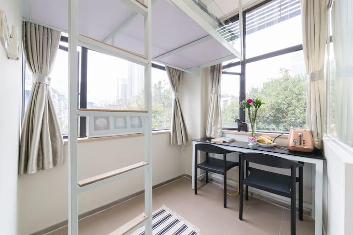 杜鹃舍 海珠广场北京路市中心舒适独立小居 Welcome home - Guangzhou - Lägenhet