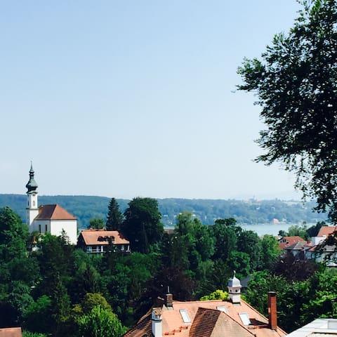 Modern Villa - fantastic view - Starnberg - Huis