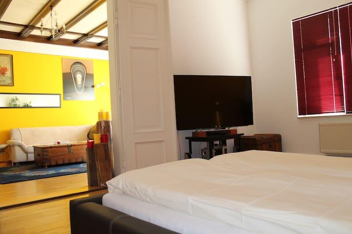 Two rooms Leipzig Zentrum. - Leipzig - Bed & Breakfast