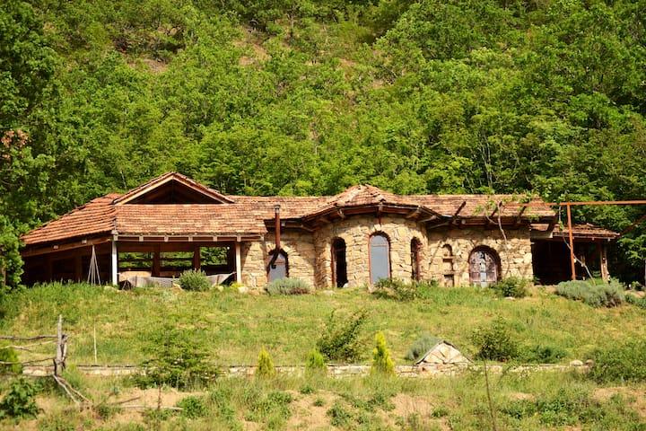 Unique, stone-built countryhouse in a rural area - Pelince, Pelintse - Kabin