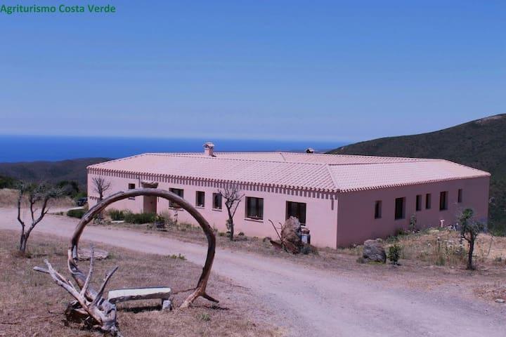 Agriturismo Costa Verde - Arbus - Oda + Kahvaltı