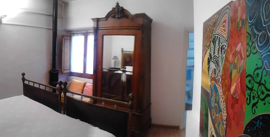 camera doppia con bagno privato - Vicalvi - Квартира