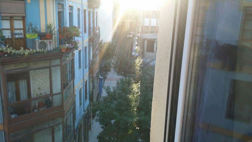 Buenas vistas en la parte antigua - Bilbao