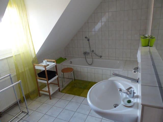 Wohnung am Nationalpark Kellerwald - Frankenau - Apartemen