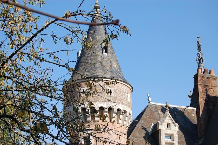 Family Castle in French Countryside - La Bazoche-Gouet - Castillo