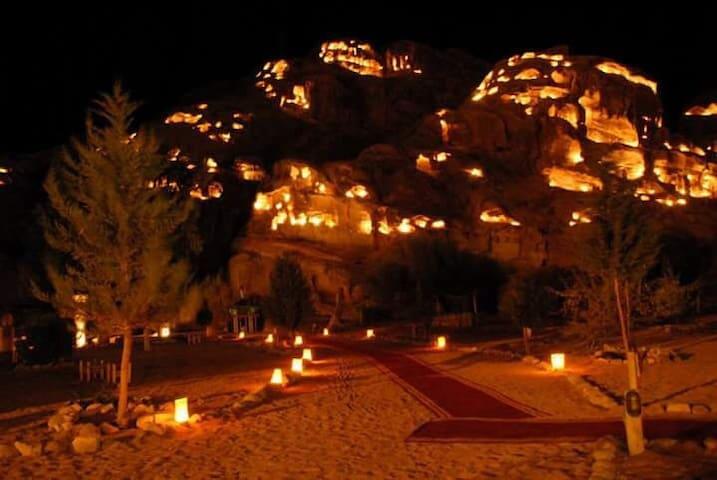 Exotic Bedouin Cave in Petra - Madaba