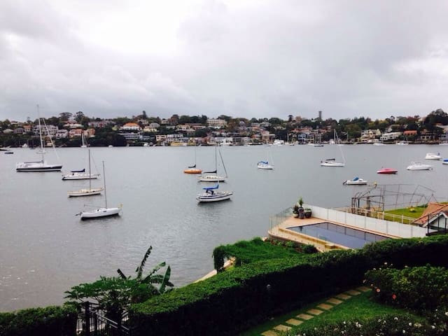 Beautiful water-view apartment - Drummoyne - Huoneisto
