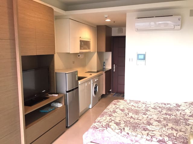 Private Suite RIGHT NEXT to Dingxi Subway Station - 永和區 - Apartamento