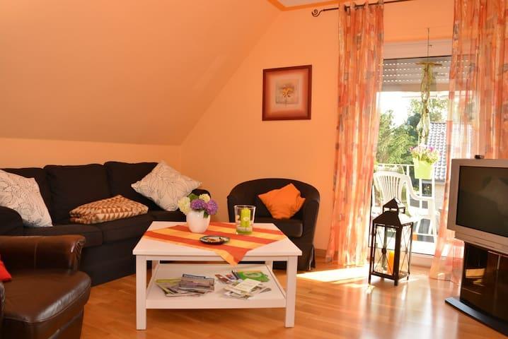 Gemütliches Heim am Niederrhein - Rees - Apartamento
