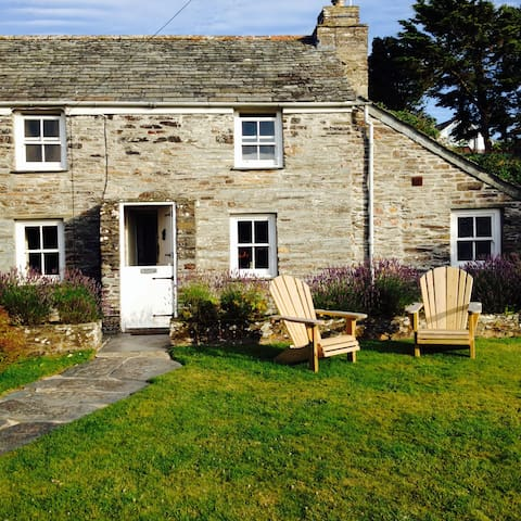 Special Cottage on the coast path - Treligga