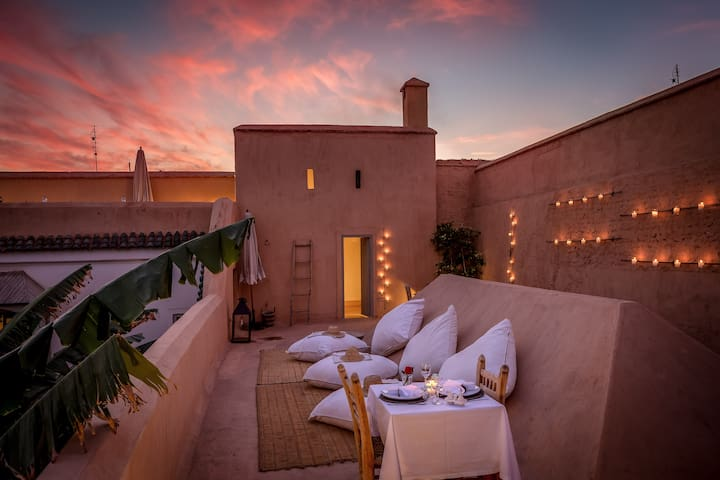 Traditional Riad with real garden - Marrakesh - Bed & Breakfast