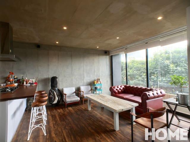 Incredible loft in the trendiest zone in Bogotá - Bogotá - Apartemen