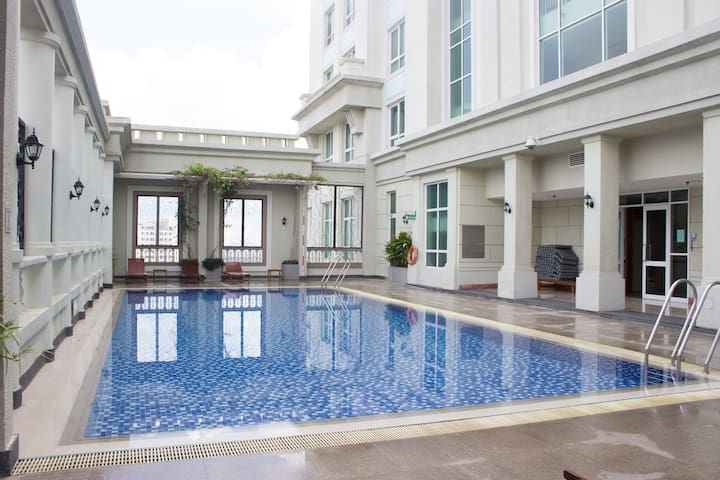 An Oasis in Saigon + FREE Rooftop Swimming Pool - Ho Chi Minh City - Appartement