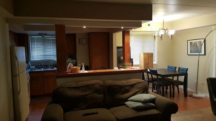 Quiet Room in Tinley park - Tinley Park - Leilighet