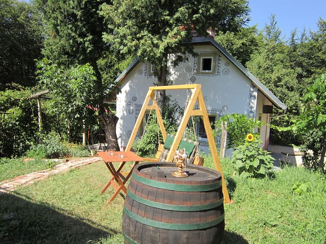 NATURE,RELAXING & WELLNESS in the VINEYARD - Gresovščak - Huis