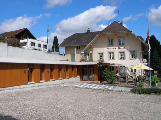 Dachstudio im Dorf - Wyssachen - Selveierleilighet