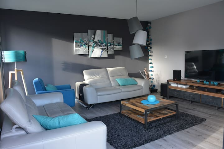 Maison moderne au calme, à 2 pas de FOUGERES - Lécousse - Huis