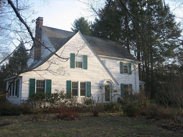 Lovely house close to Hartford & UConn Health Ctr - West Hartford - Huis