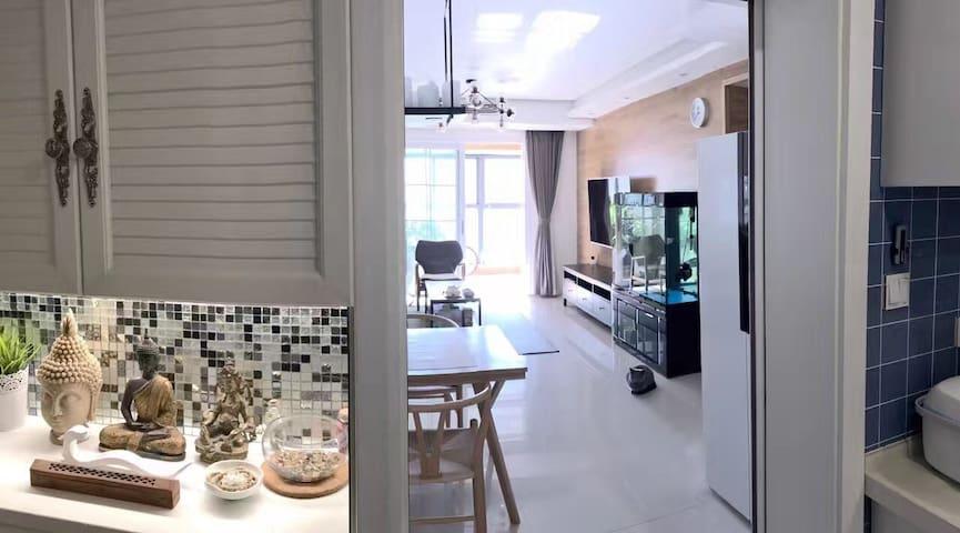 镇江高铁万达旁(实景拍摄,独立房间,非整套房) - 镇江 - Kondominium