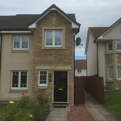 Canalside home - Falkirk - Rumah