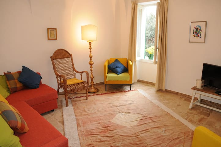 Italian holiday apartment 20 mins from sea slps 7 - Muzio - Departamento
