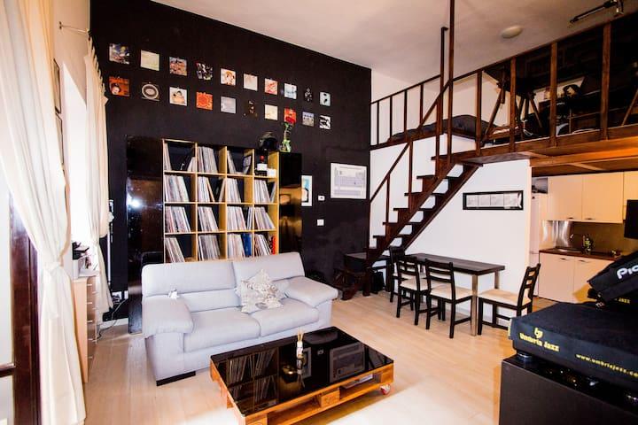 Modern loft in the heart of Perugia  - Perugia - Appartement