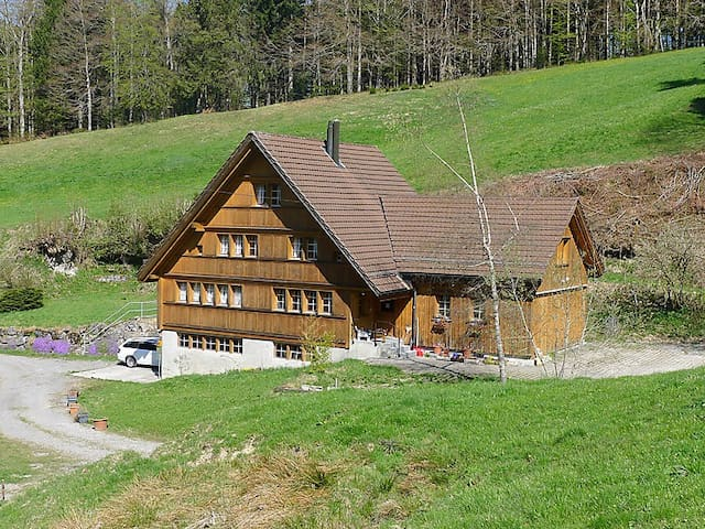 Idyllic vacation home in Appenzell's woods - Trogen - Appartement