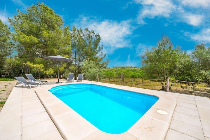 Ca Na Rafela - Quiet villa with private pool - Lloret de Vistalegre - Huis