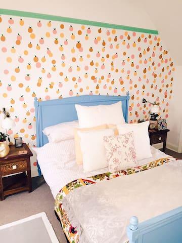 Beautiful Room In Vintage Cottage. - Letchworth Garden City - Hus