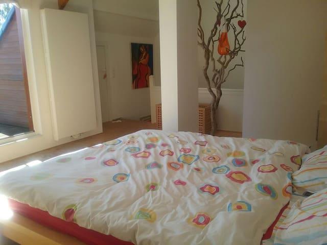 Sunny duplex 80m+terrace, 3ch, 5 be - Genappe - Talo