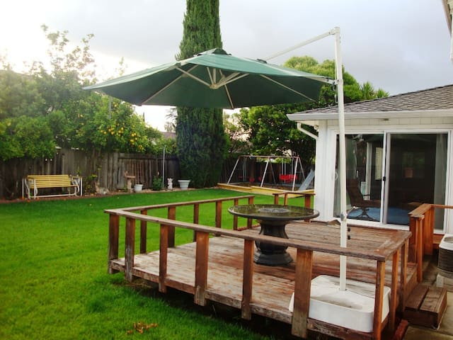 NICE ROOM in quiet Silicon Valley Home - San Jose - Maison