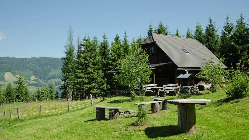 Hansbauer Hütte - Sankt Lorenzen ob Murau - Hytte (i sveitsisk stil)