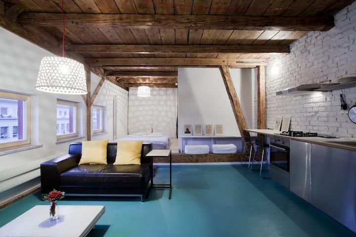 Awesome studio in old town - Bratislava - Apartemen