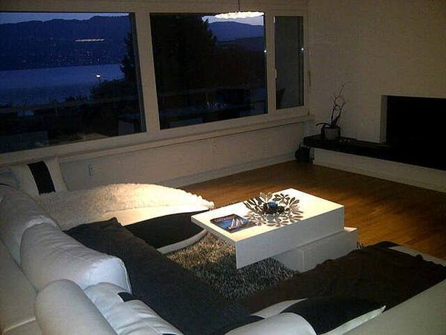 A lovely lake facing Penthouse - Stäfa - Appartement